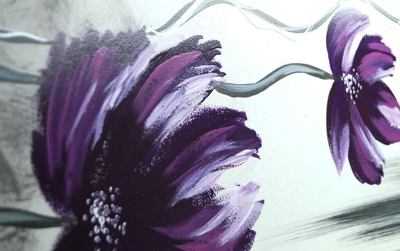 Moderní obrazy květiny ručně malované obrazy